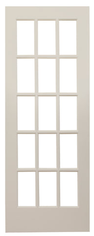 15 Lite French Door (Primed)