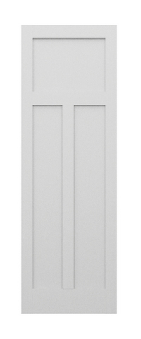 3 Panel Shaker Style Door (Primed)
