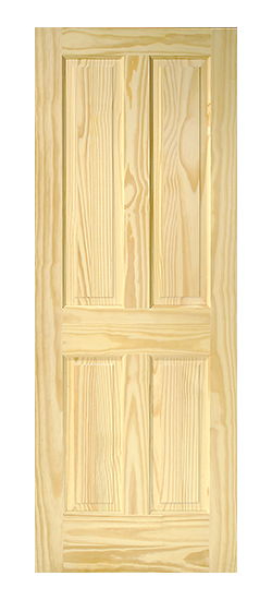 Raised Double Hip 4 Panel Pine Door Door To Door