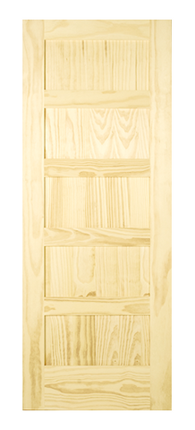 5 Panel Shaker Style Door