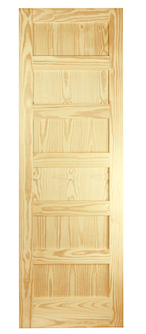 6 Panel Shaker Style Door
