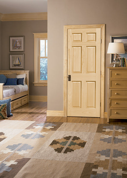 Raised Double Hip 6 Panel Pine Door Door To Door