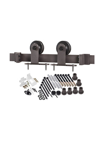 Top of Door Barn Door Hardware Kit