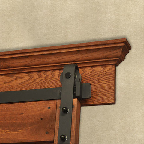 Crown Barn Door Mounting Board