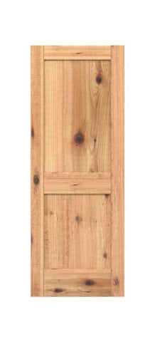 2 Panel Shaker Style (Knotty Alder)