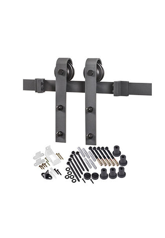 Bent Strap Barn Door Hardware