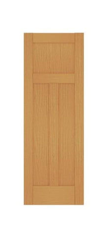 3 Panel Shaker Style (Red Oak)