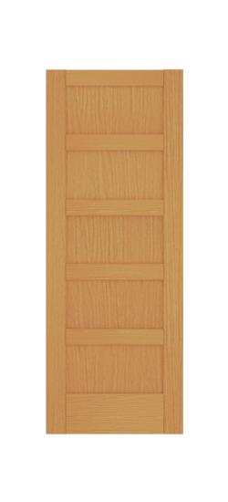Merveilleux 5 Panel Shaker Style (Red Oak)