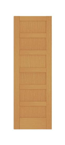 6 Panel Shaker Style (Red Oak)