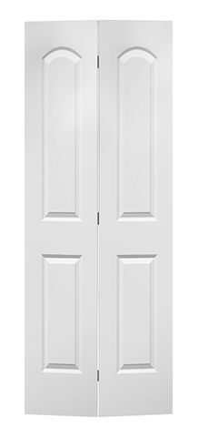 Elegant Caiman Molded Bifold Door (Primed)