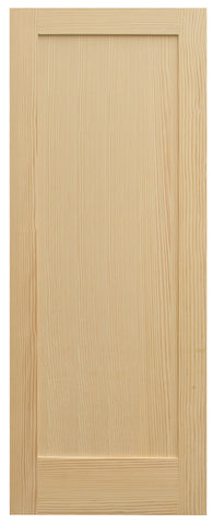 Single Panel Shaker Style Door