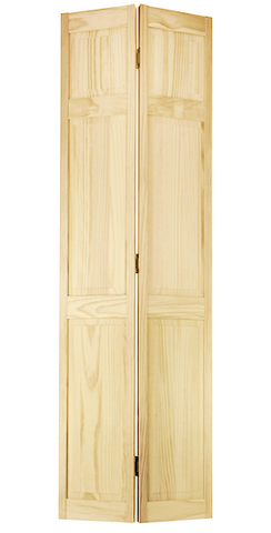 Colonial 3 Raised Panel Bifold Door