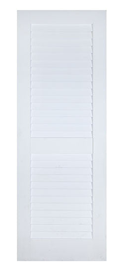 2 Plantation Louver Panel Door Primed Door To Door