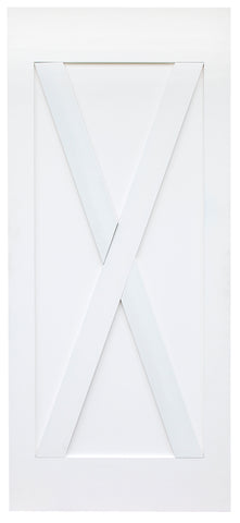 X-Brace Barn Door (Primed)