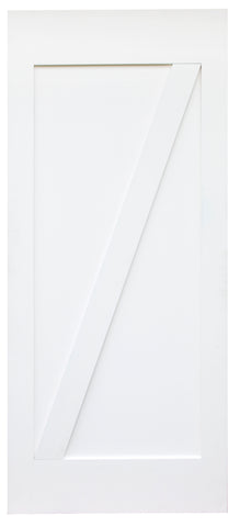 Z-Brace Barn Door (Primed)