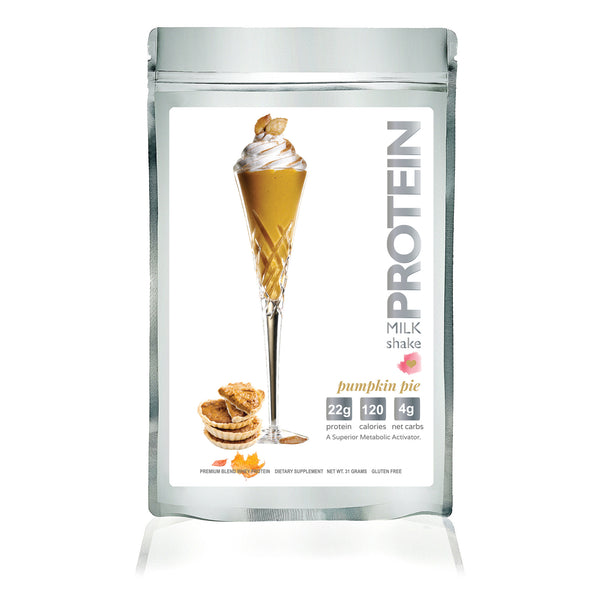 Protein Milkshake Deluxe Sample Variety Pack - 6 Flavors - Protein Powder For Weight Loss