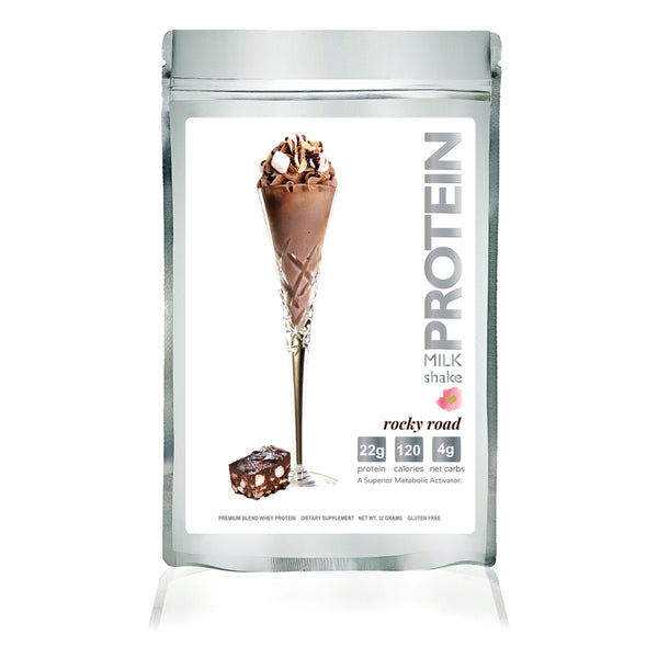 Ships March 25: Protein Milkshake Sipping Pretty Spring Deluxe Starter Set - Protein Powder For Weight Loss