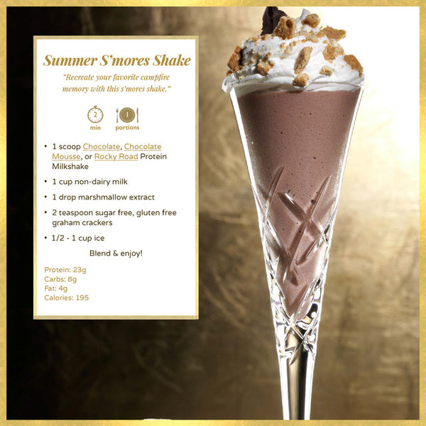 Freegift - 1LB Protein Milkshake Rocky Road   - 15 servings - Protein Powder For Weight Loss