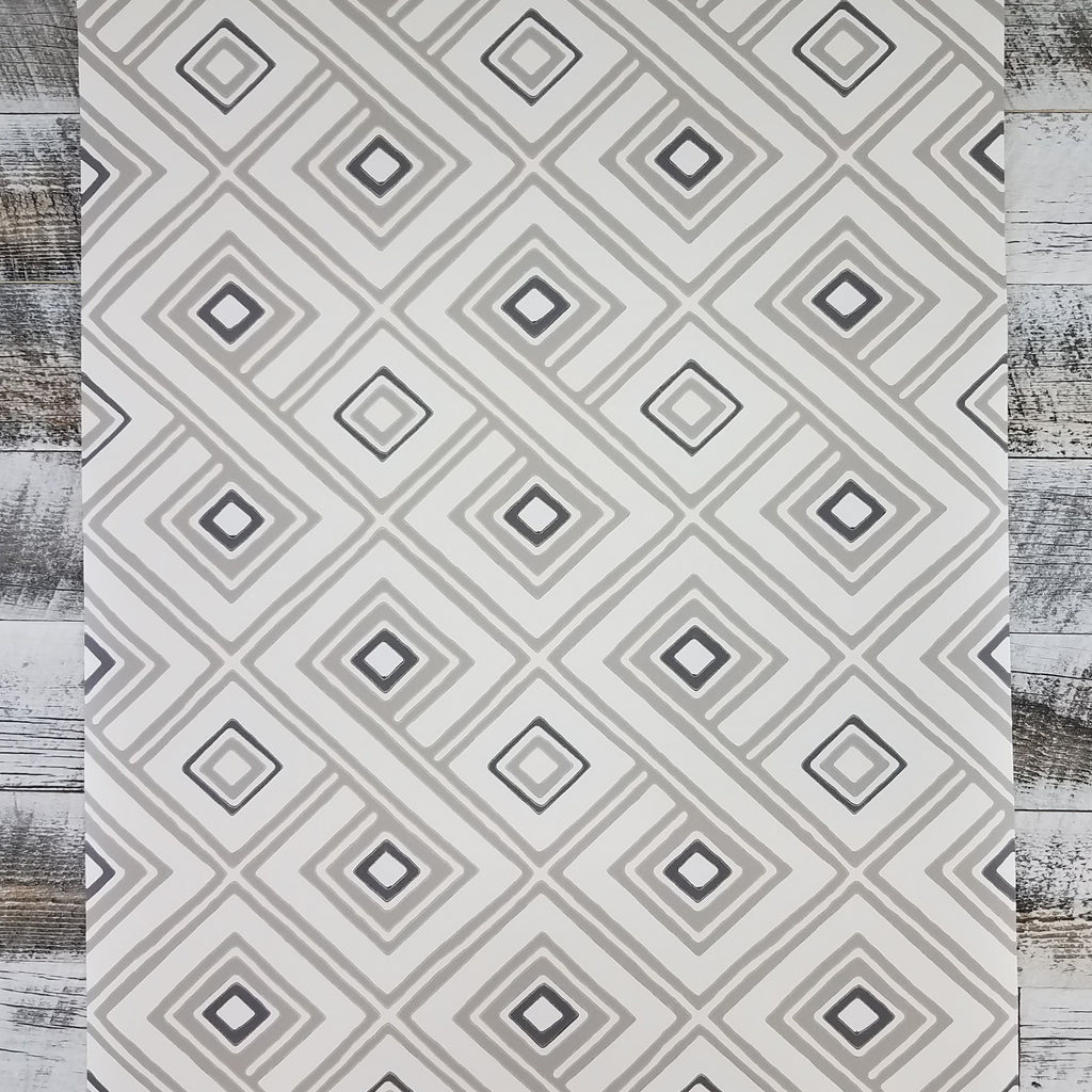 York Aztec Pattern Play Paradox Geometric Cream Taupe | HS2011