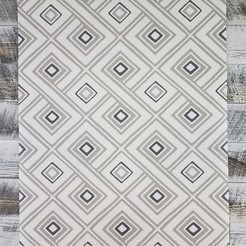 HS2011 York Aztec Pattern Play Paradox Geometric Cream Taupe