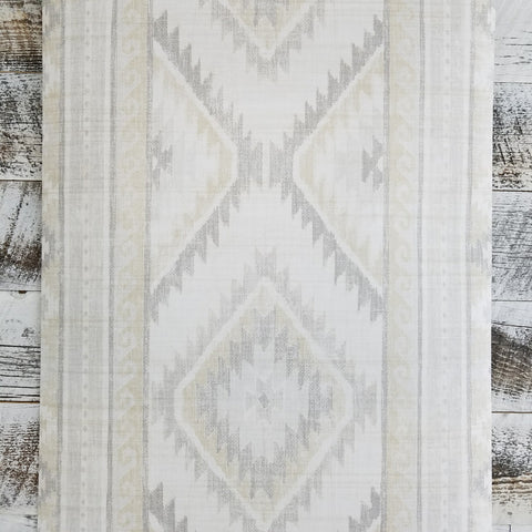 Global Style Navajo Boho Aztec Light Gray Wallpaper | UE80008