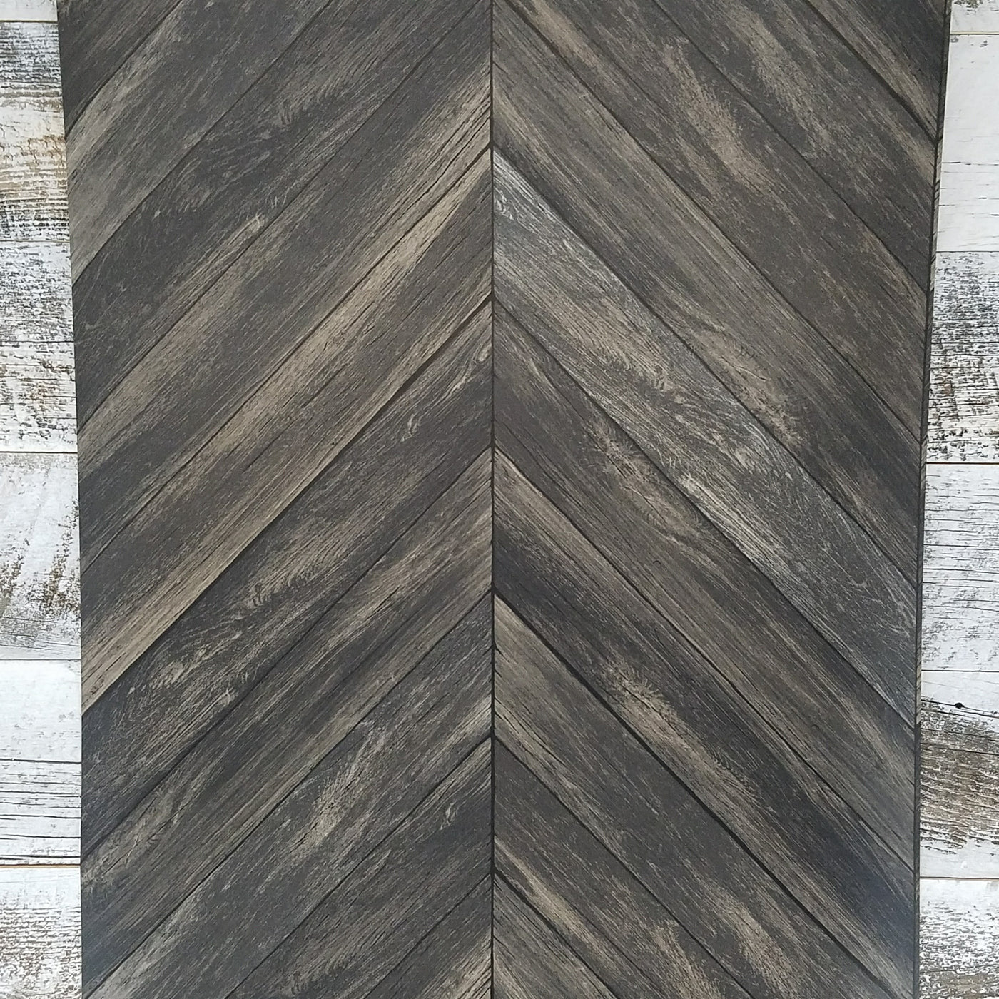 brewster chevron dark brown wood plank parisian espresso. Black Bedroom Furniture Sets. Home Design Ideas