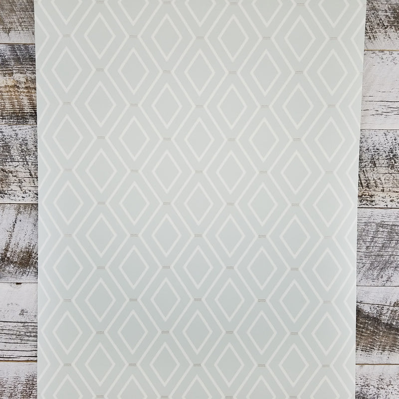 Waverley Classic Diamond Duo Harlequin Geometric Wallpaper | WC7580