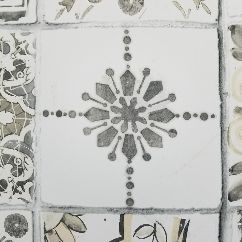 Morrocan Ceramic Tiles Wallpaper