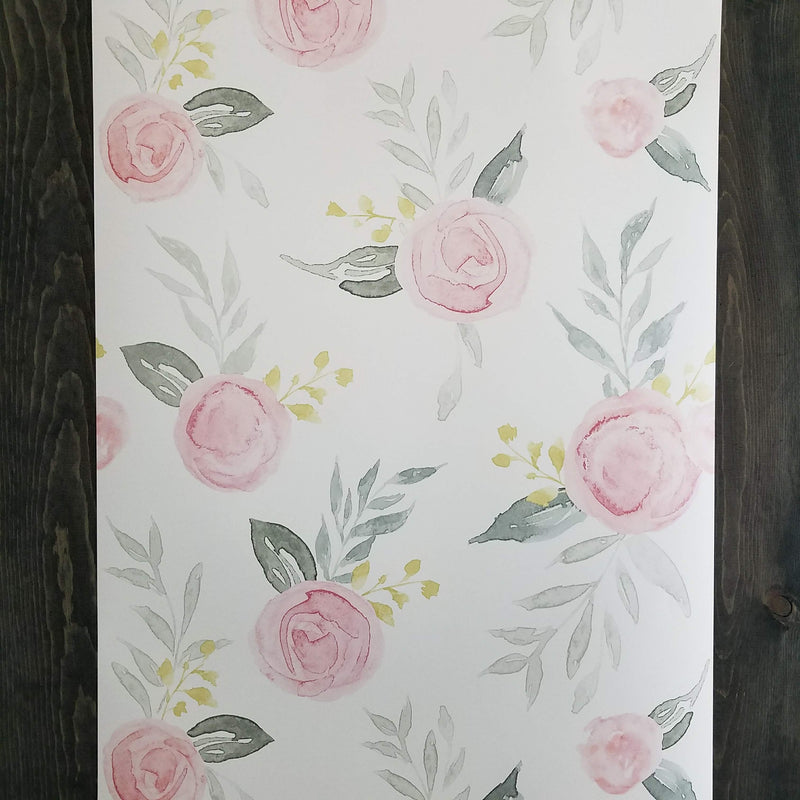 Magnolia Home Artful Watercolor Roses