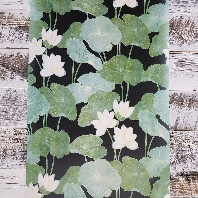 Lily Pads Peel and Stick Wallpaper