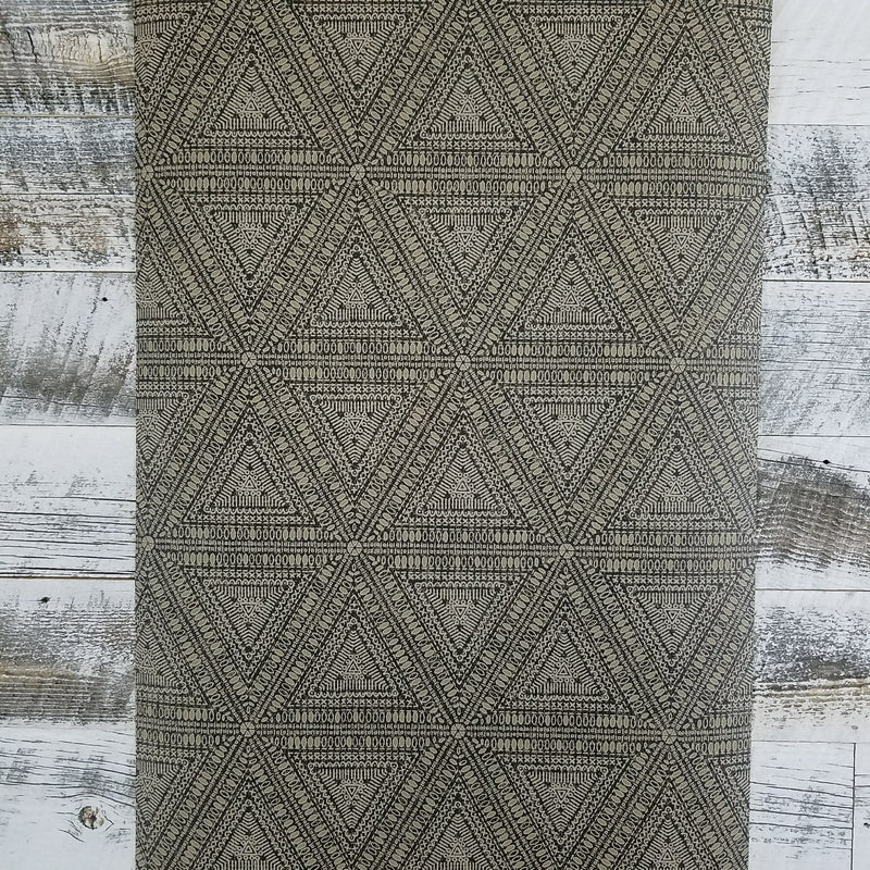 Norse Tribal Brown Charcoal Wallpaper