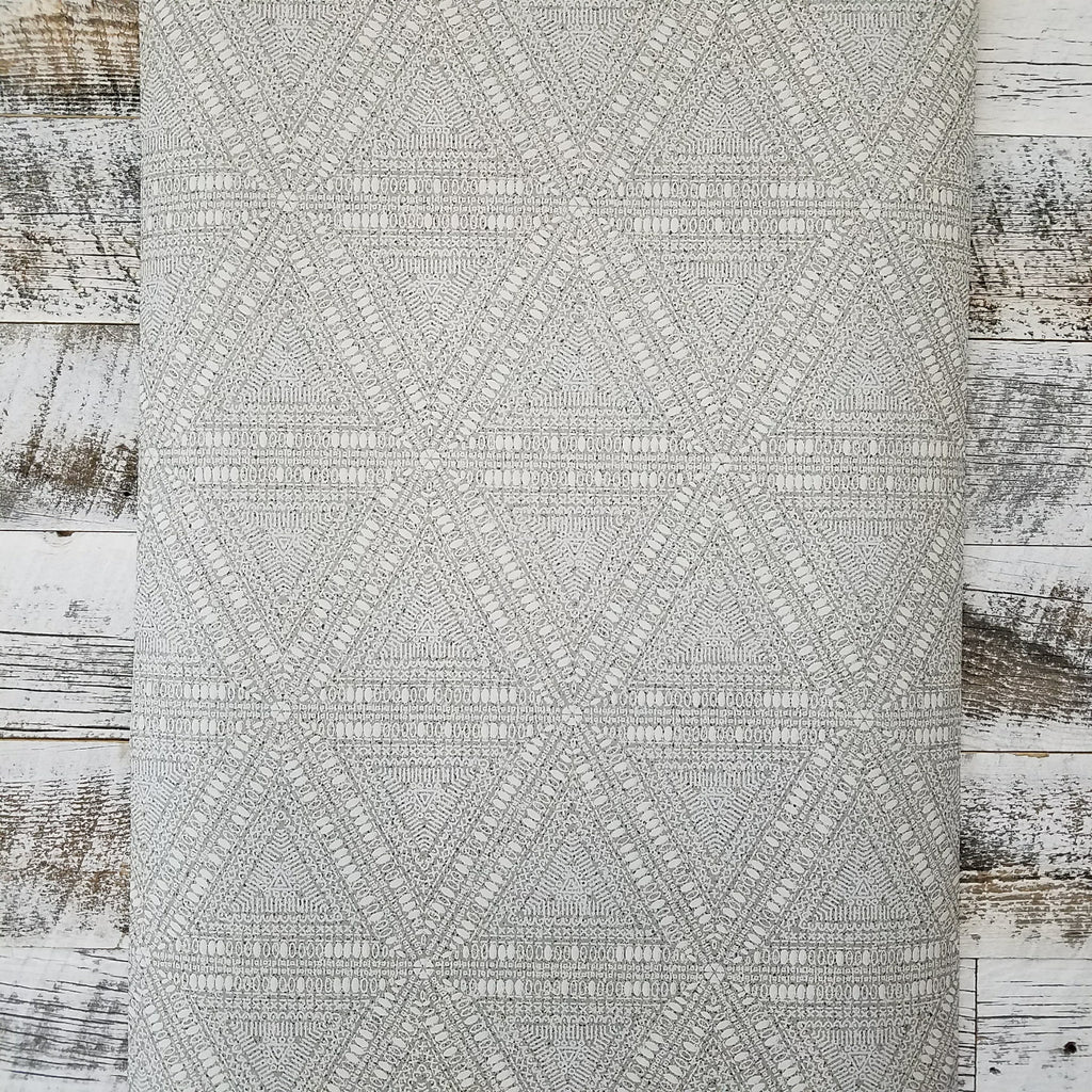 Norse Tribal Beige Gray Wallpaper