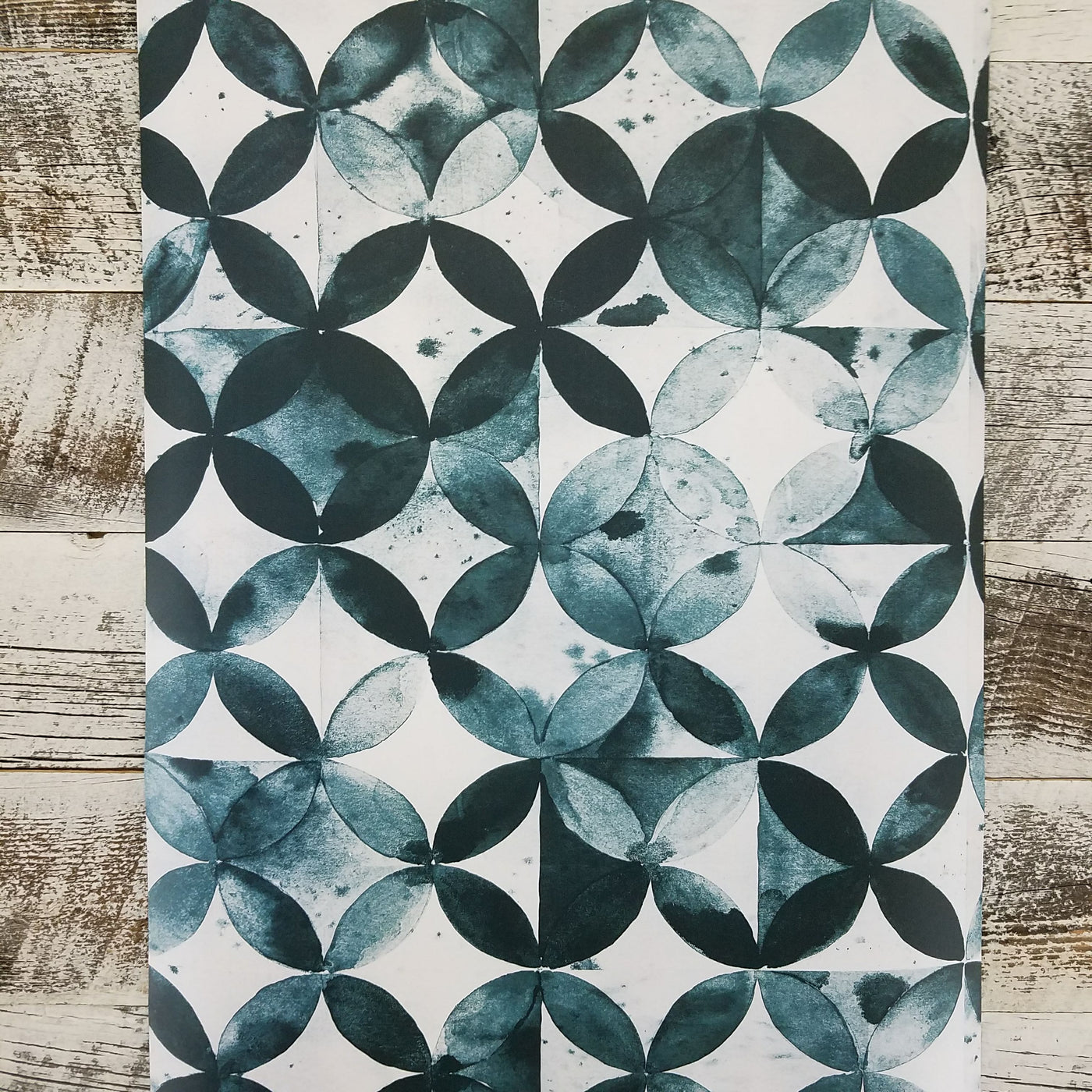 Paul Brent Green Moroccan Tile Peel And Stick Wallpaper D Marie Interiors