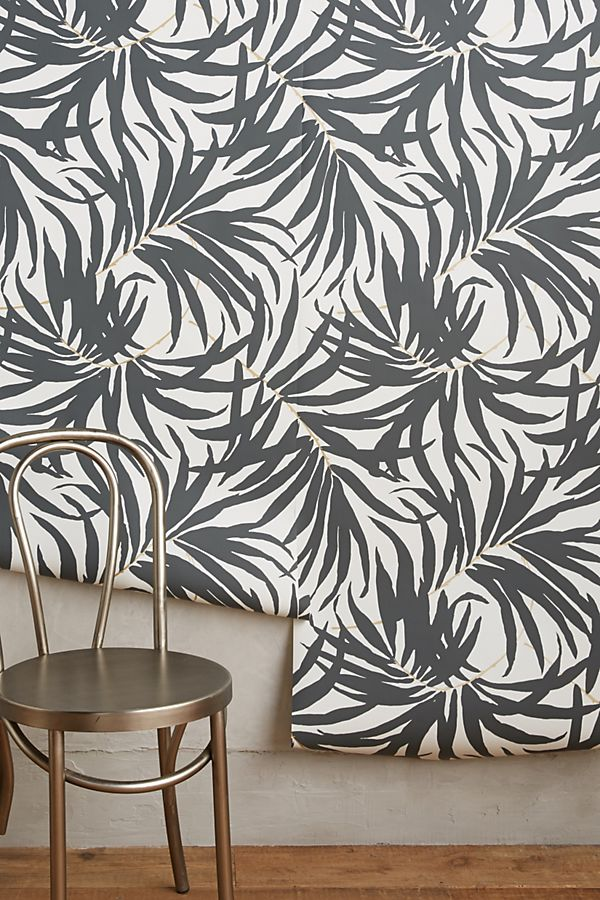 York Bali Leaves Ashford Tropics Wallpaper