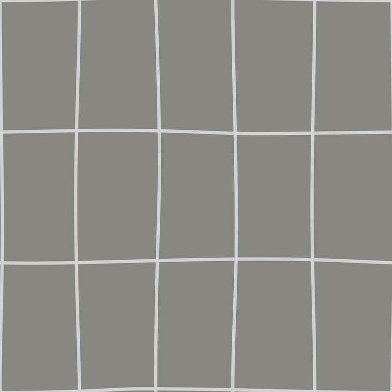 York Off the Grid Geometric Metallic Silver Gray Wallpaper