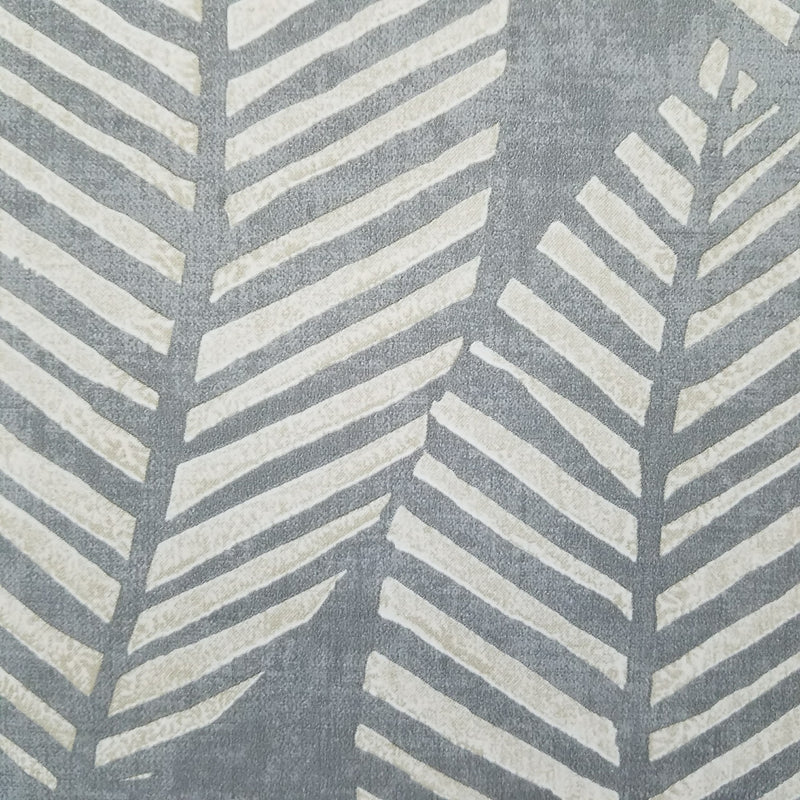 Maya Gray Tropical Leaf Wallpaper