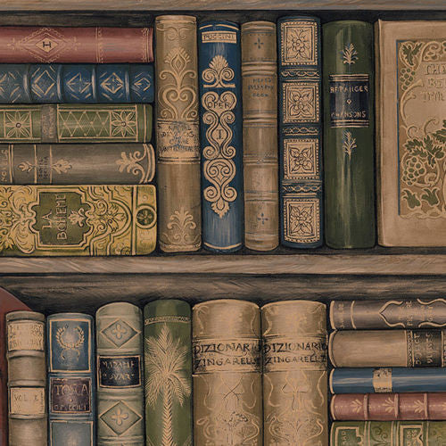 library books wallpaper LL29570