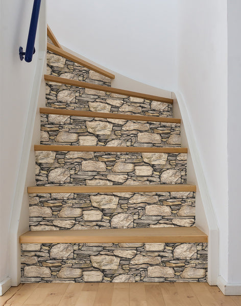 Hadrian 3d ledger stone wall peel and stick wallpaper for 3d peel and stick wallpaper