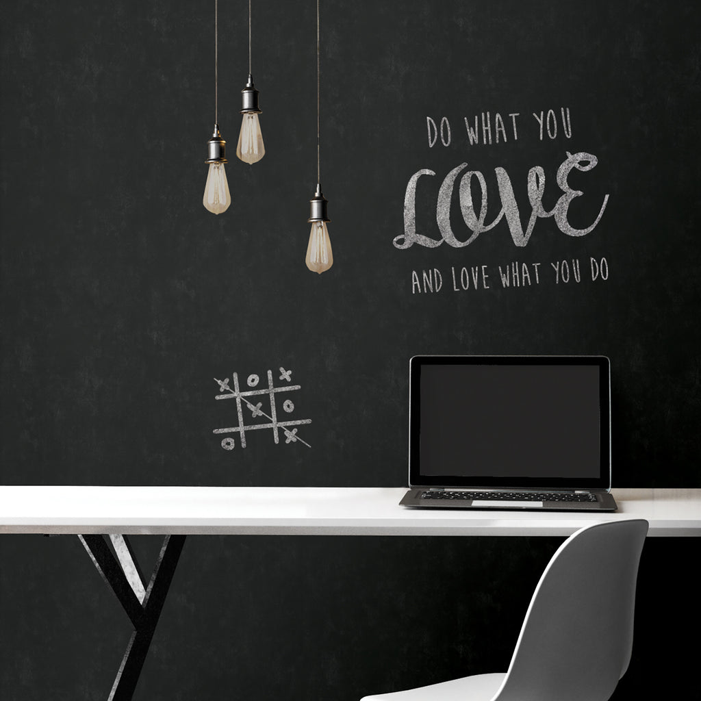 WallPops Vintage Farmhouse Peel and Stick Chalkboard Wallpaper