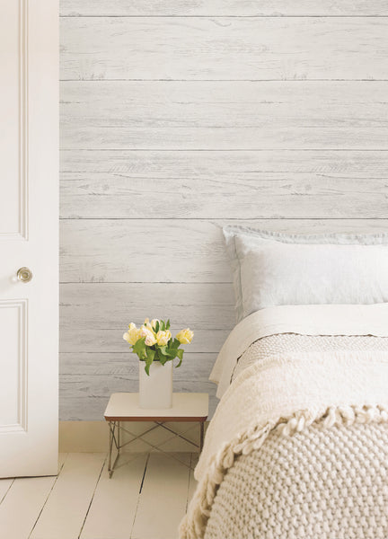 Wallpops Shiplap Reclaimed Wood Peel And Stick Wallpaper