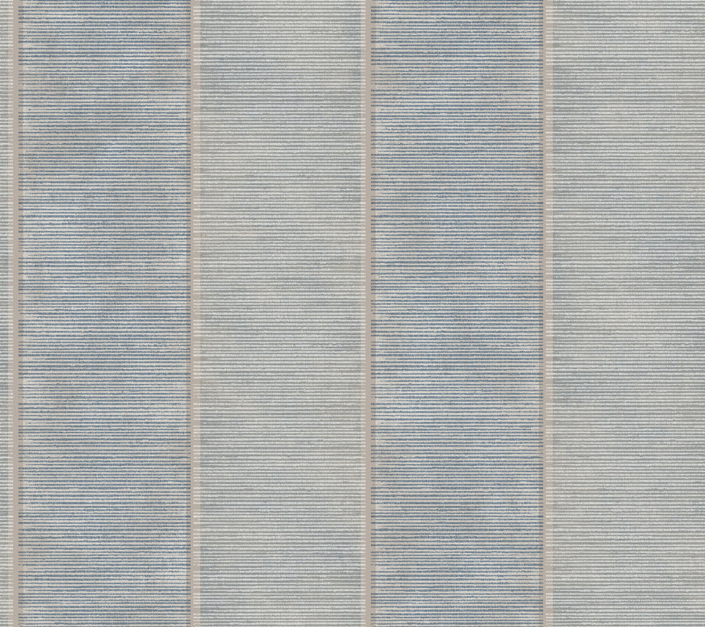 Southwest Modern Vertical Blue Stripe Wallpaper