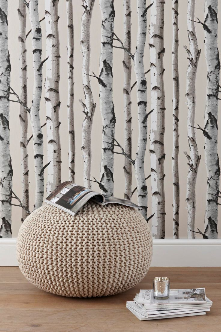 Birch Trees NU Wallpaper Peel and Stick Wallpaper