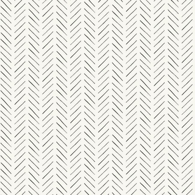 Pick-up sticks Chevron Peel and Stick Wallpaper