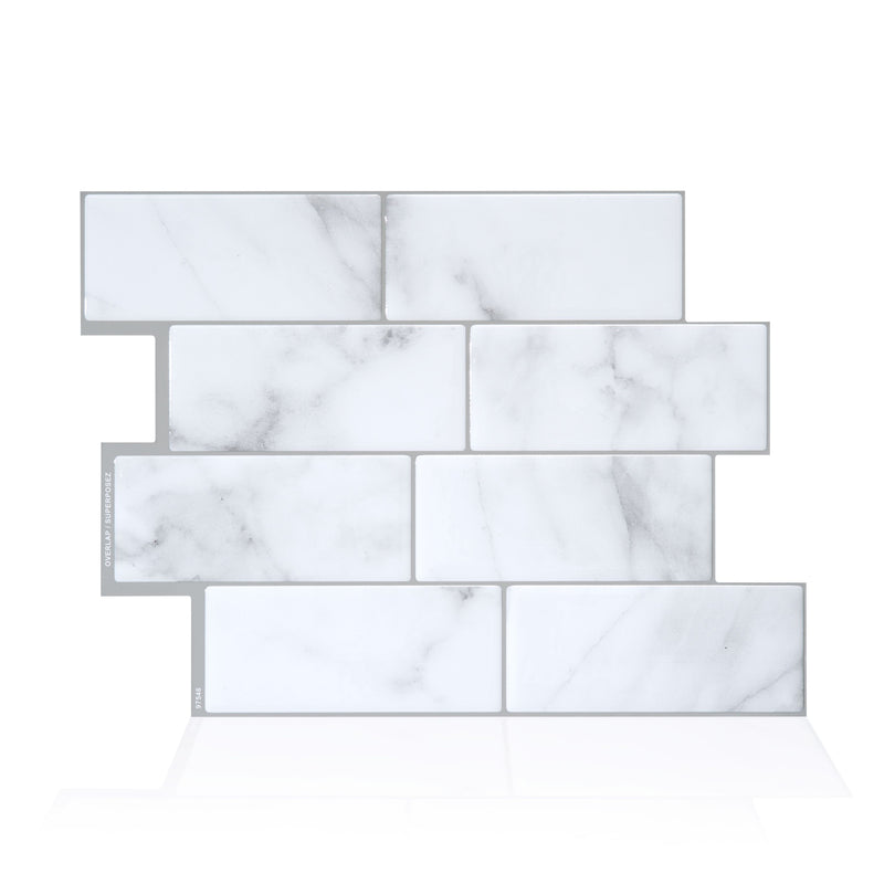 Smart Tiles Metro Carrera Subway Peel and Stick Tile