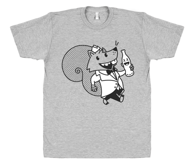 Soda Jerk Squirrel Shirt