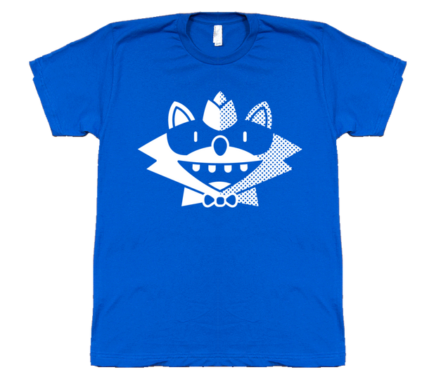 Blue Raccoon Tee