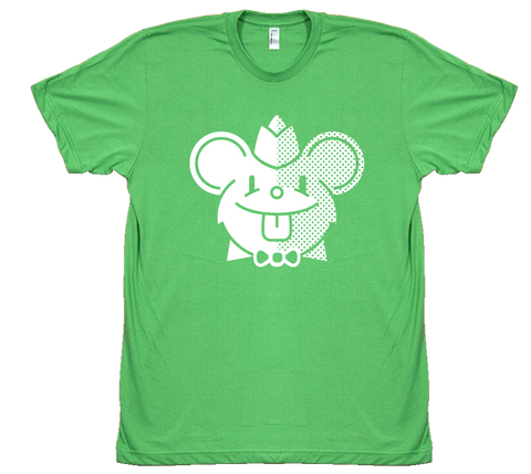 Green Mouse Tee