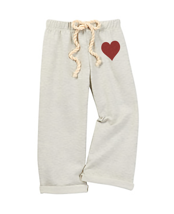 Nikki Gray French Terry Pant w/Embellisment
