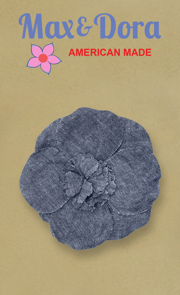 "Flower 5"" Chambray"