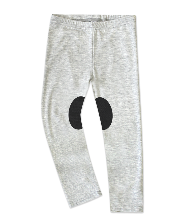 Charly Light Grey Jersey Jodhpur Legging